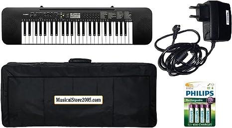 Casio Student Pack ctk240 teclado 49 teclas/accesorios Bundle: Amazon.es: Instrumentos musicales