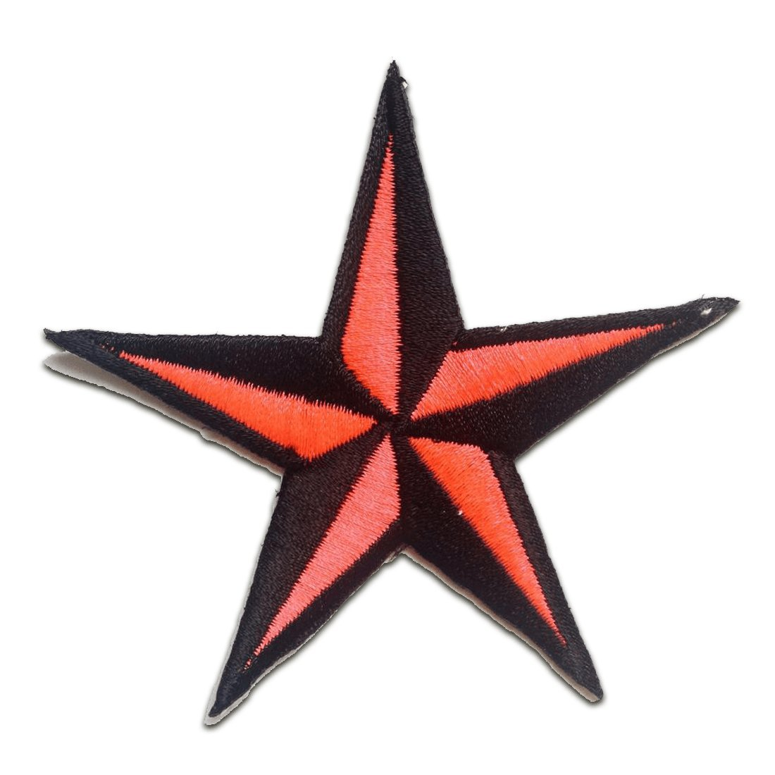 Iron on patches - Star - purple - 7, 5x7, 5cm - Application Embroided patch badges by Catch-the-Patch.de