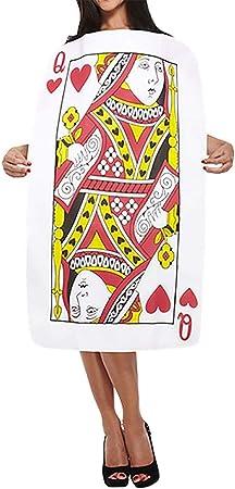 Disfraz de Reina de Corazones de Naipes para Adultos: Amazon.es ...