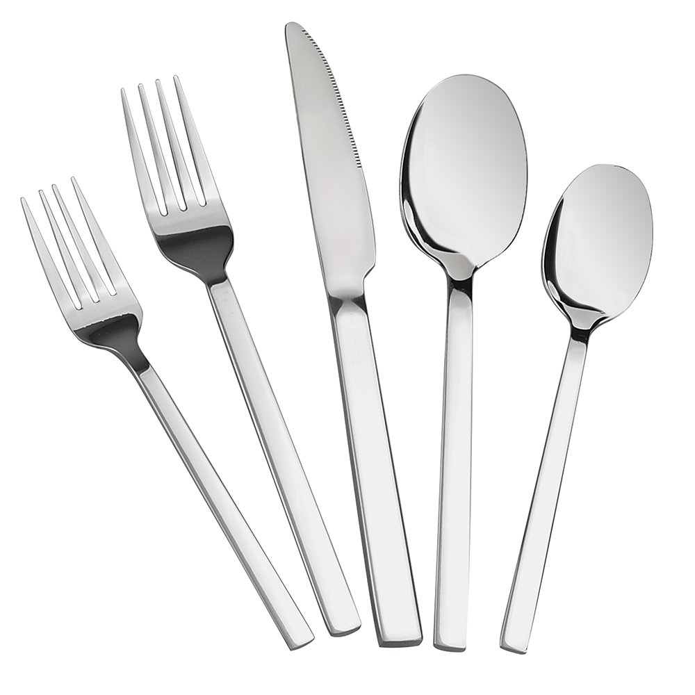 Doryh 40-Piece Flatware Set Stainless Steel, Service for 8
