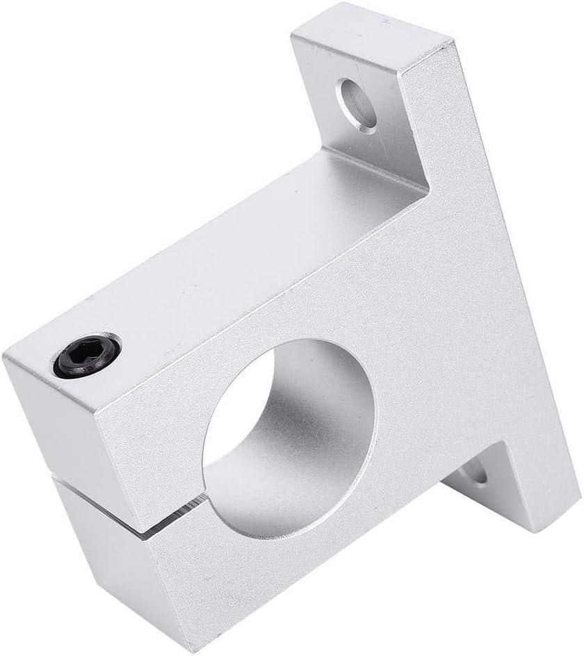 SK40 Aluminum Alloy Shaft Bracket Hardware Accessory Industrial Parts Light-Weight Fastener Rail Accessory Fixing Bracket