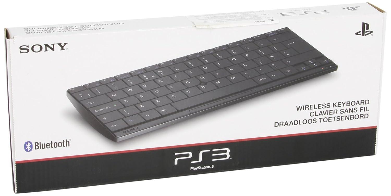 Sony Wireless Keyboard, PS3 - Teclado (PS3, Bluetooth, QWERTY, Negro, Gaming console, Mini, Derecho): Amazon.es: Informática
