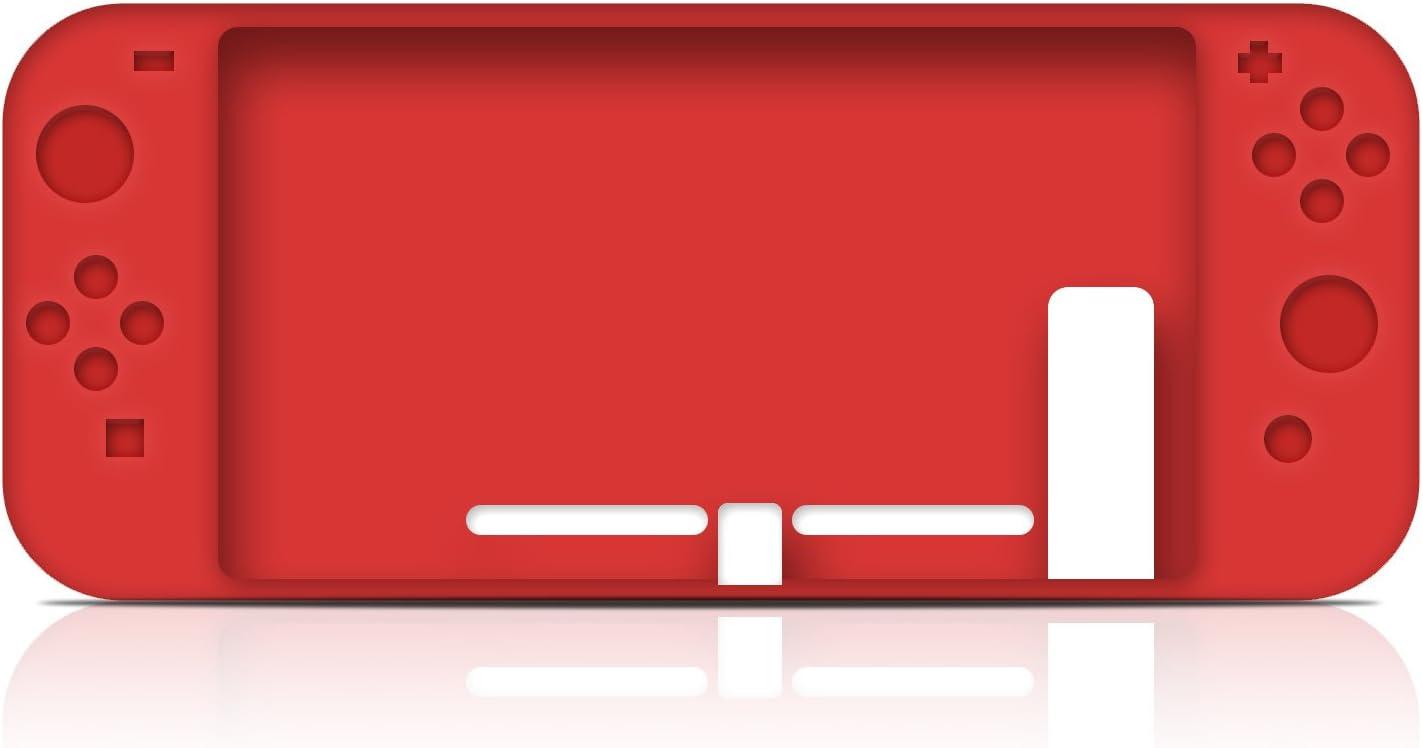 KuGi Nintendo Switch Funda Carcasa/Caso/Case, Nintendo Switch Funda Caja de TPU Suave Estilo de Esmerilado para Nintendo Switch.(Rojo): Amazon.es: Electrónica