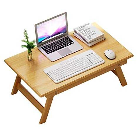 Superb Amazon Com Haizhen Square Bamboo Laptop Table Folding Bed Pabps2019 Chair Design Images Pabps2019Com