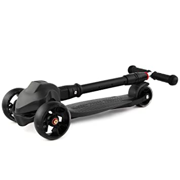 Buysyall ®Mini Scooter Y Patinetes de Empuje con 3 Ruedas Plegable Rápido Ajustable, Monopatín Infantil Speeder Tri Empuje para Niños Niñas de Más de ...