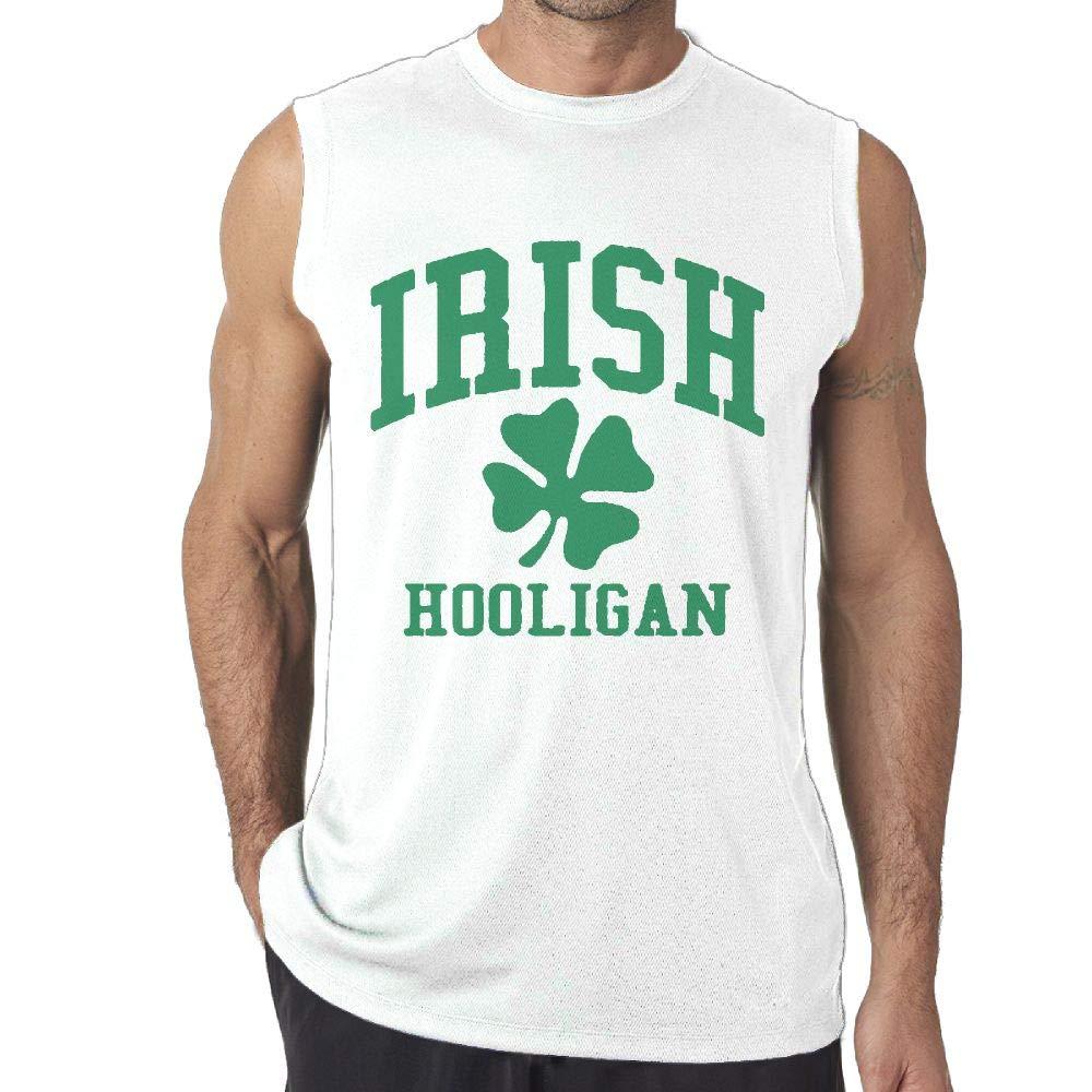 JKSI PKJG Irish Hooligan Men's Sleeveless T Shirts Fitness Vest Gym Tank Top Shirt