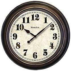 Westclox 32213 Oversized Classic Wall Clock 24 Round Home & Garden Improvement