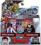 Minimates Avengers Bruce Banner and War Machine