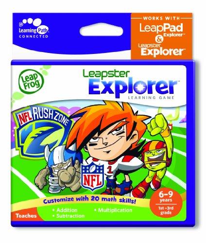LeapFrog Explorer Learning Game: NFLRush Zone