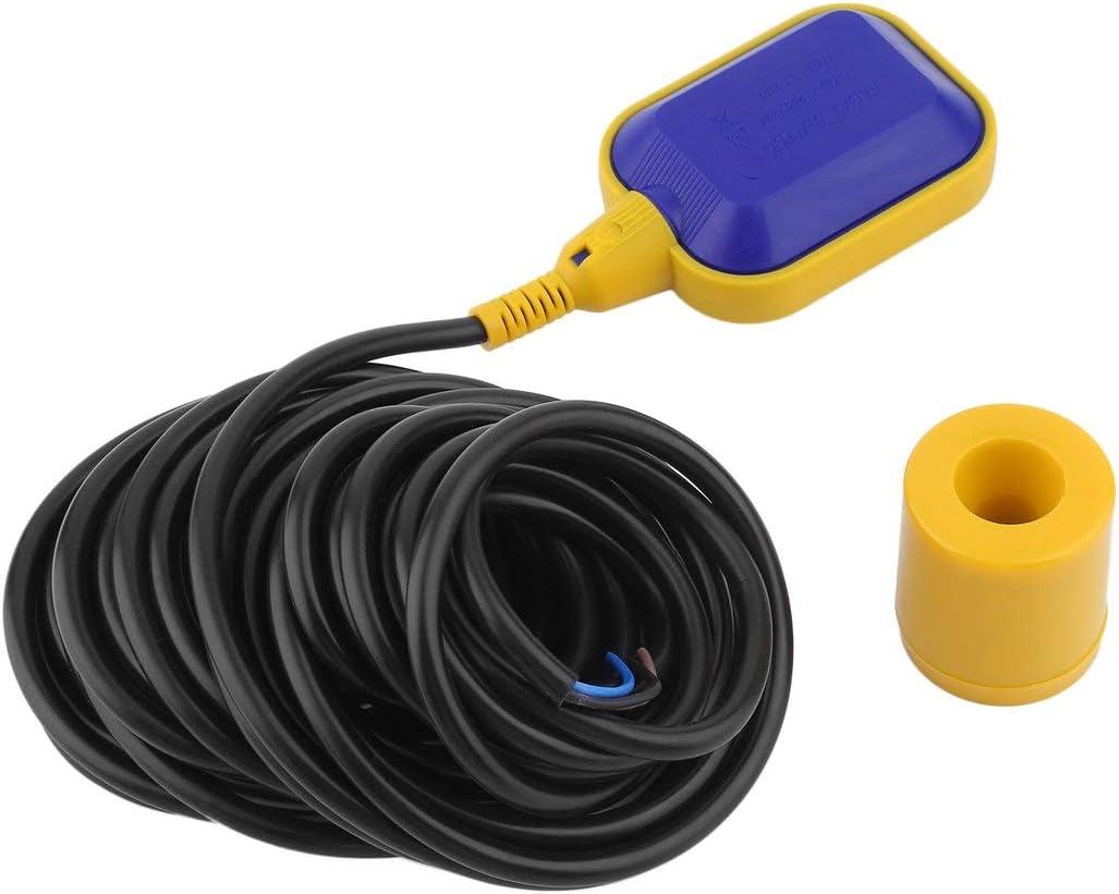 Gaetooely Interruptor de Flotador Sensor de Nivel de Agua con Cable para Acuario