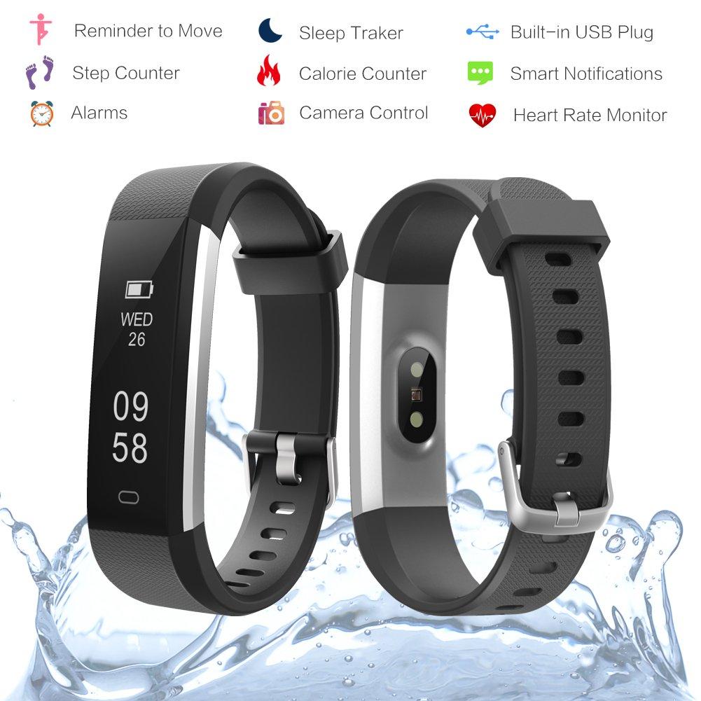 Amazon.com: Fitpa Fitness Tracker, Slim Activity Tracker ...