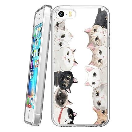 Amazon.com: LingHan Only Good Vibes - Carcasa para iPhone 5 ...
