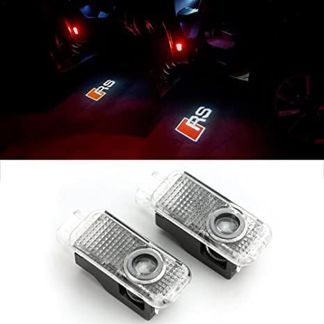 Cortesía Luces Proyector Exterior led LED proyector Luces led Coche (2 Piezas) LED proyector