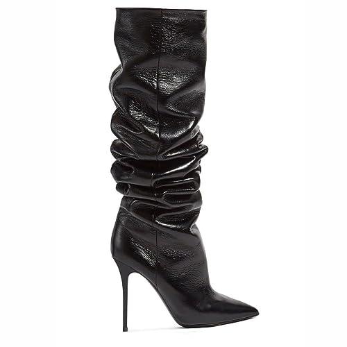 Elegant high shoes Botas de Mujer de Cuero Sintético Botas