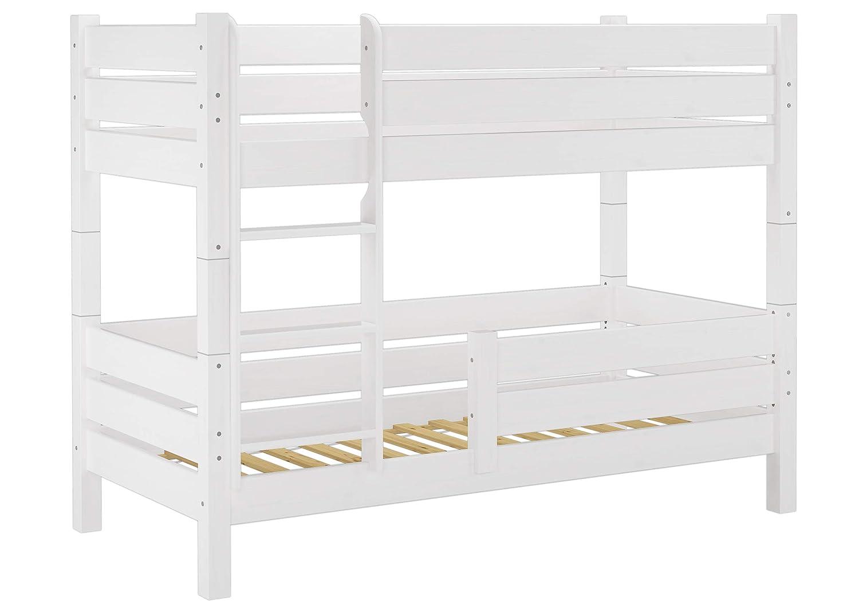 16 W Protezione Anti-Caduta per Letti a Castello Erst-Holz/® Modello 60.16 Colore: Bianco