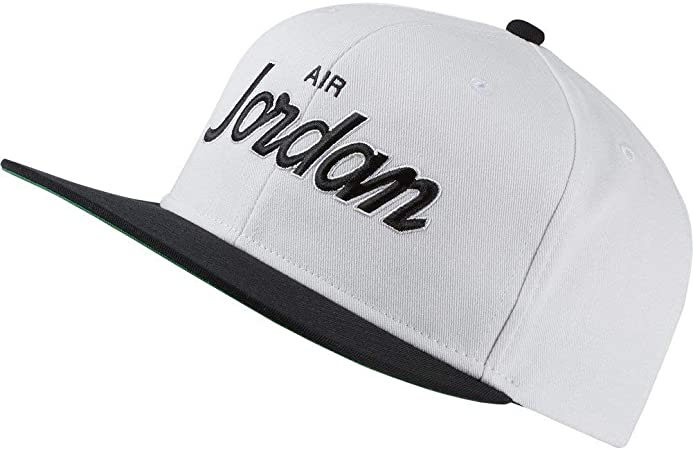 Nike Jordan Pro Script Cap Gorra, Unisex Adulto, Heather/Black ...