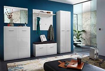 Lifestyle4living Garderoben Set Garderobe Flur Garderobe Diele