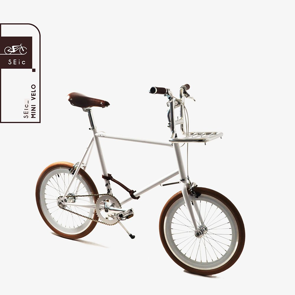<<台湾SEic自転車工場直送>>超軽量スタイリッシュデザイン20インチ3段変速_シティサイクルミニベロSEic Mini Velo Choco-Chic B07DVGXPQ1