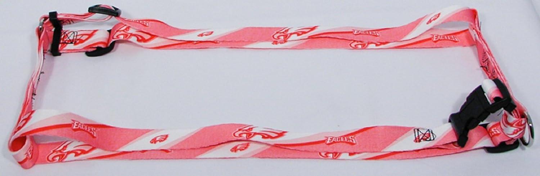 Hunter MFG 1.6cm Philadelphia Eagles Pink Adjustable Harness, Small