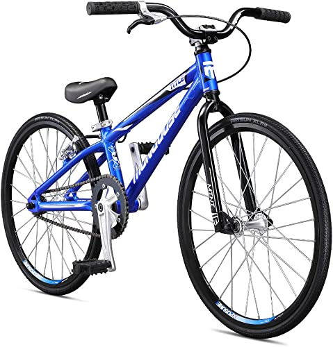 Mongoose Title Micro, Mini, Junior, Pro and Expert BMX Race Bike, 20-Inch Wheels, Beginners to Intermediate Riders, Lightweight Aluminum Frame, Internal Cable Routing