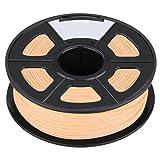 3D Printer Filament - TOOGOO(R)3D Filament 3.0mm PLA for Print RepRap MarkerBot Rapman 1kg/2.2lbs, Wood color