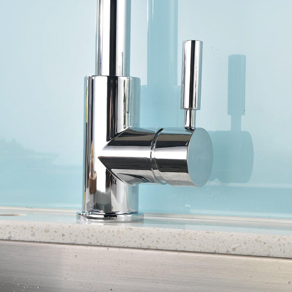 Modern High Pressure Powerful Water Flow High-arc Goose Neck Single ...