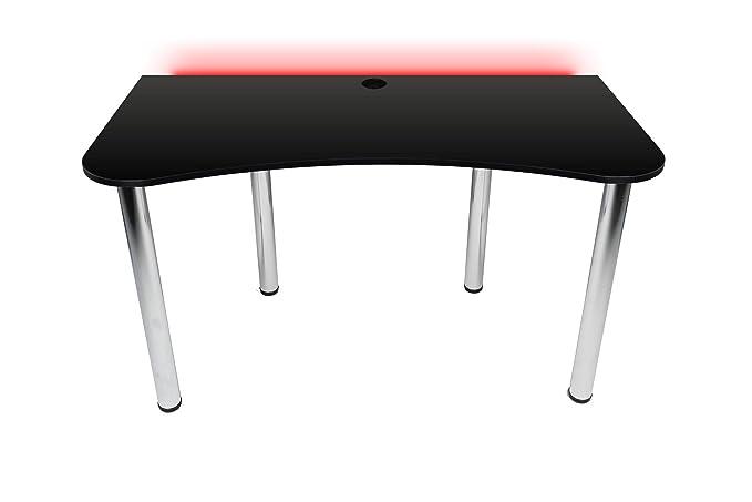 Victory Gaming Essentials - Mesa de Juegos con luz LED RGB para ...
