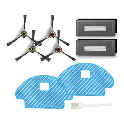 Sweet D Kit de Repuestos para Ecovacs Deebot Ozmo 930 Repuestos para Robotics DG3G-KTA