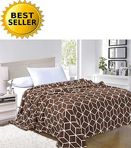 Elegant Comfort #1 Fleece Blanket on Amazon- Luxury Micro-Fl