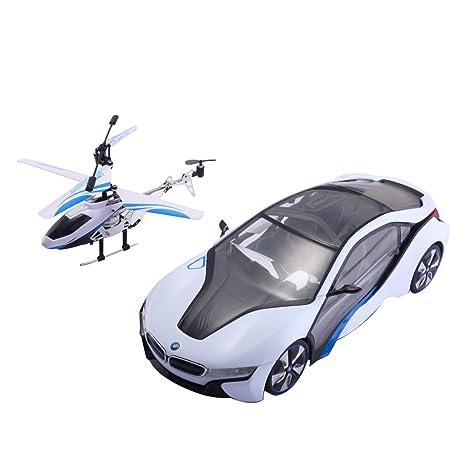 Amazon Com Costzon Radio Control 1 14 2 4g Speed Bmw I8 Model Car