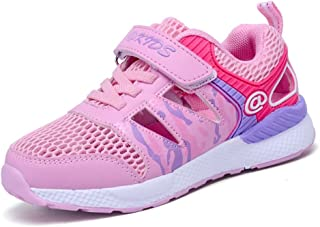 Axcer Mixte Enfant Chaussures de Sport Ultra-léger Respirantes Chaussures de Course Multisports Outdoor Sneakers Gymnastique Fitness Running Baskets Mode pour Garçon et Fille HYX01-0556