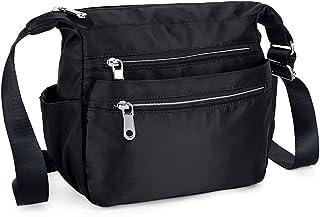 UTO Nylon Crossbody Tasche Oxfürd wasserdicht Kleid Schultertasche Henkeltasche Messenger Tasche für iPad Kindle Tablets 18000289-1