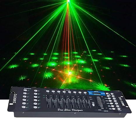 Luces Discoteca, controlador DMX 512 de la consola 192 ...