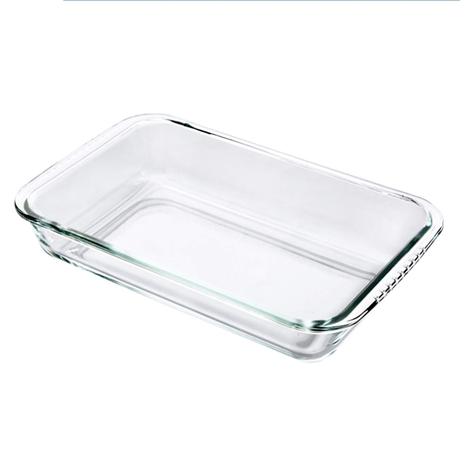 Clear Oblong Toughened Glass Baking Dishes Pan Oven Bakeware Non Stick Kitchen Tool Cheese Tray
