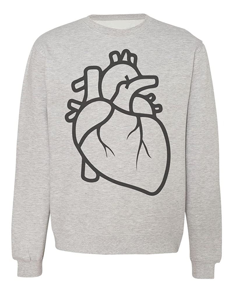 IDcommerce Elegant Minimalistic Heart Mens Womens Unisex Sweatshirt