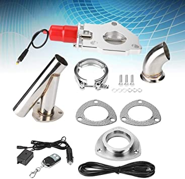 2.25inch Car Modification Universal Electric Exhaust Valve Remote Control Electric Exhaust Valvel