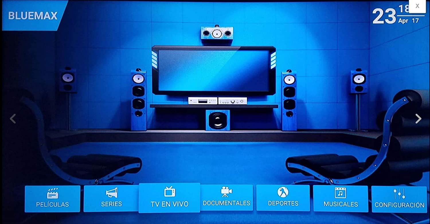 IPTV Bluemax Service 12 Months Activation, Renewal Subscription/Bluemax  Application/Movie/Serie/European - USA and Latin Live Channels  HD/Documentals