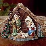 The Bradford Exchange A Child Is Born Nativity Figurine by Thomas Kinkade