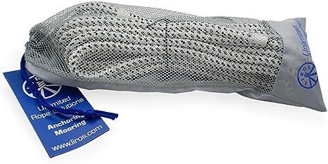 marineblau mit gespl Auge Liros Porto Festmacher Leine 6 m 16 mm