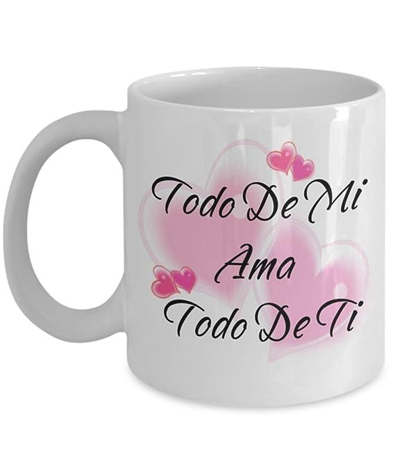 Amazon.com: Todo De Mi Ama Todo De Ti. (All Of Me Loves All ...