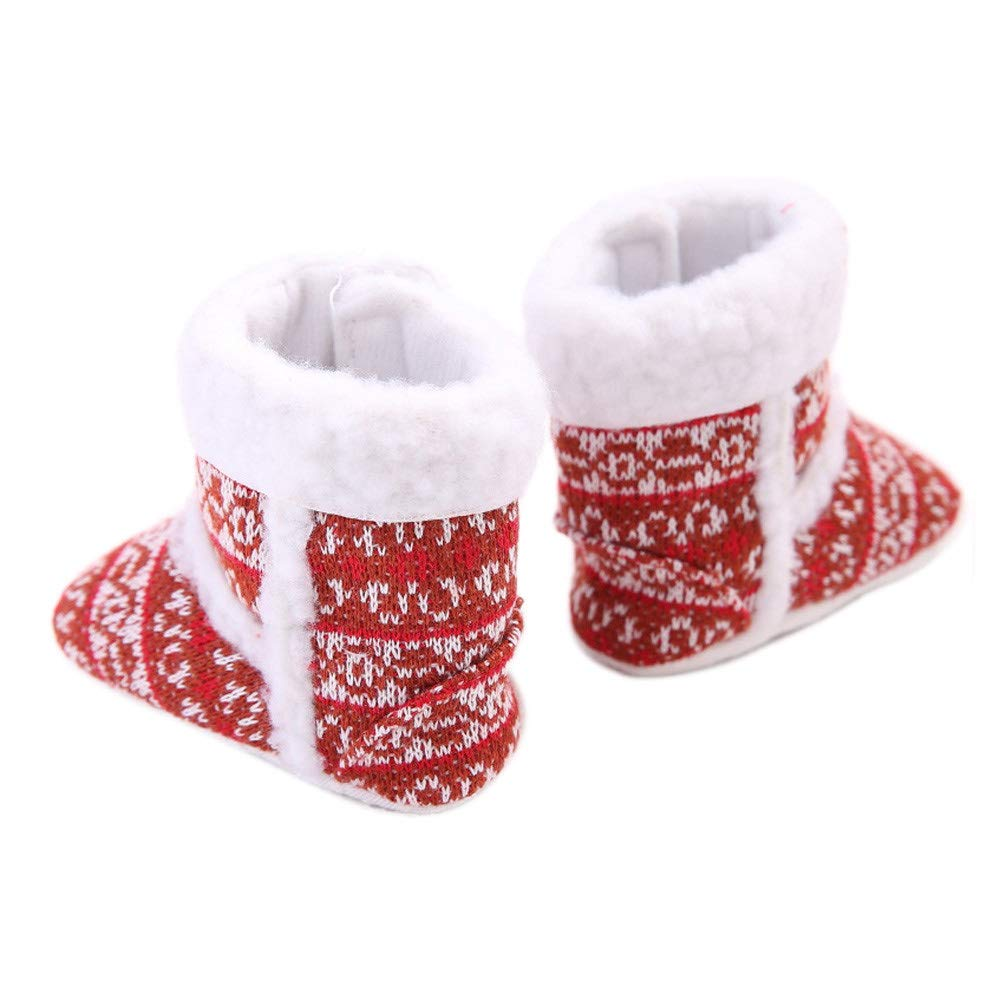 SANYALEISHEN New Winter Warm Infant Soft Toddler Boots Baby Girl Snow Shoes