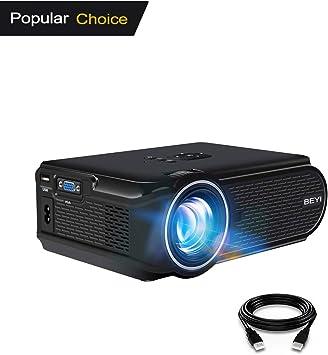 BEYI 3000 Lumen LED Proyector de Video. Proyector PortáTil ...