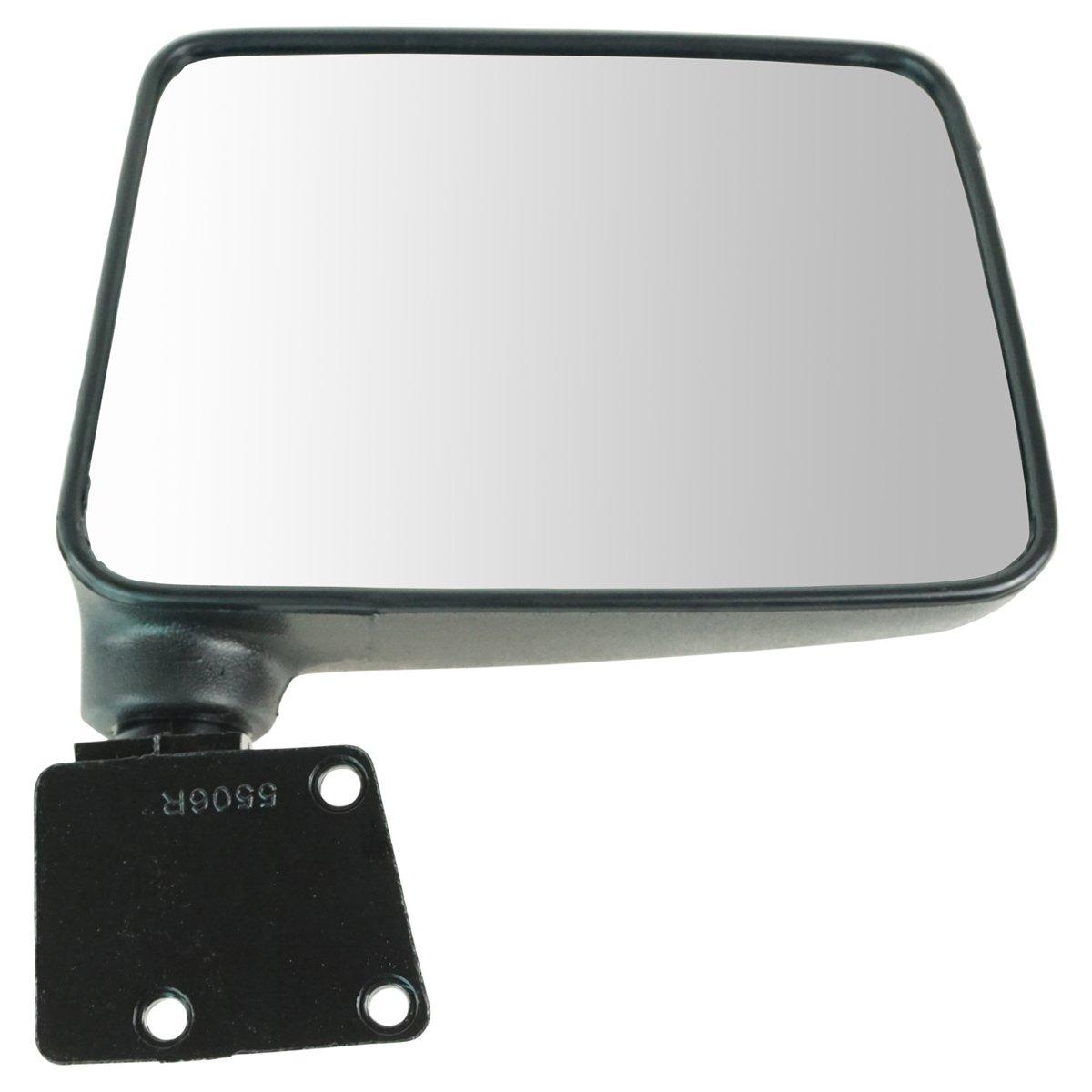 Manual Folding Black Mirror LH Driver RH Passenger PAIR for 87-95 Suzuki Samurai