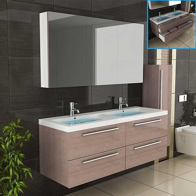 Badezimmer Unterschrank Doppelbecken