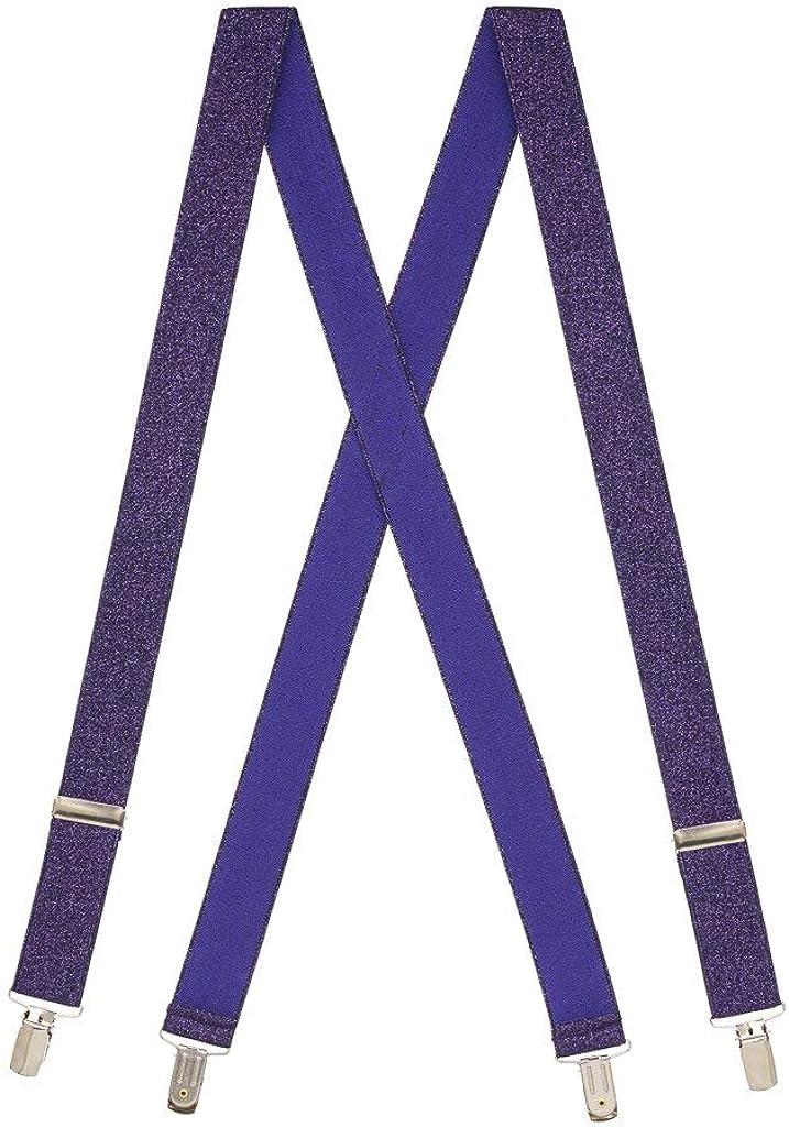 1.25-Inch Wide 2 Sizes, 7 Colors SuspenderStore Kids Glitter Suspenders