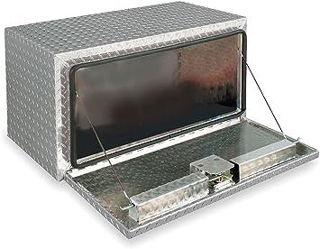 JOBOX 1-006002 36 Long Black Steel Underbed Truck Box 18 x 18