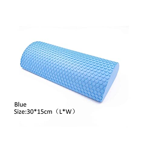 Amazon.com : 30-45Cm Half Round Massage Foam Roller Yoga ...