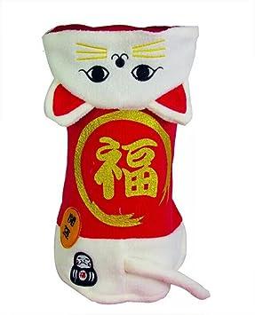 Disfraz de icegrey perro de mascota gato de la fortuna chino ...