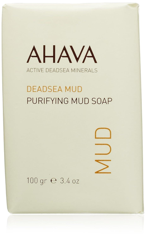 AHAVA Dead Sea Purifying Mud Soap 100 g Dead Sea Laboratories Ltd RB23 AHV00016