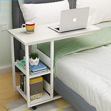 Folding Table Mesa Plegable extraíble Doble Estante, Mesa de ...